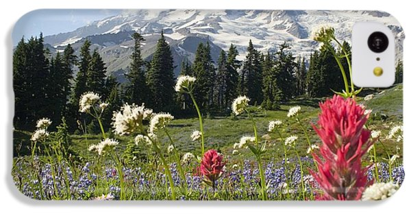 Wildflowers In Mount Rainier National IPhone 5c Case