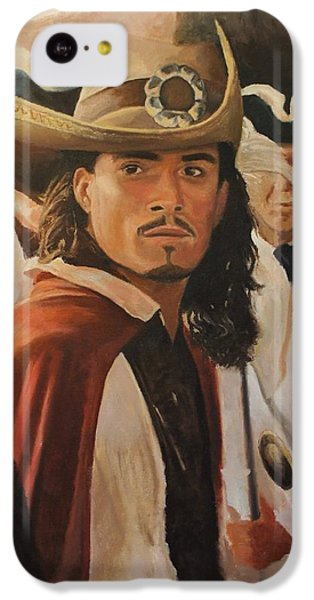 Will Turner IPhone 5c Case by Caleb Thomas