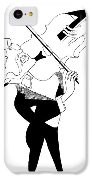Violin iPhone 5c Case - William Primrose by Granger