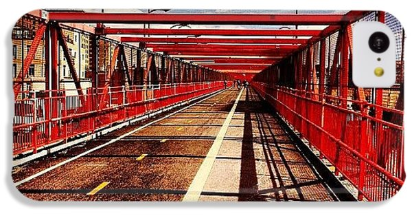 City iPhone 5c Case - Williamsburg Bridge - New York City by Vivienne Gucwa