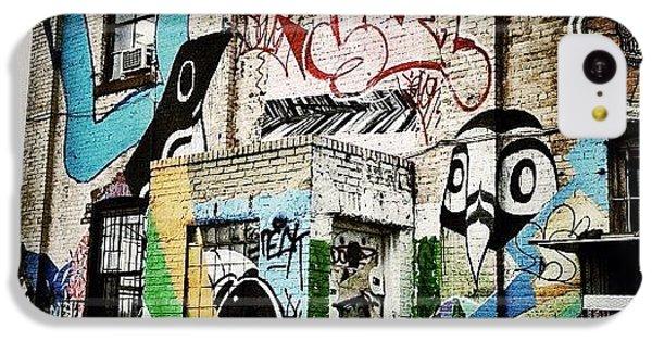 Gmy iPhone 5c Case - Williamsburg Graffiti by Natasha Marco