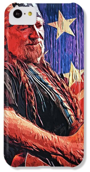 Willie Nelson IPhone 5c Case