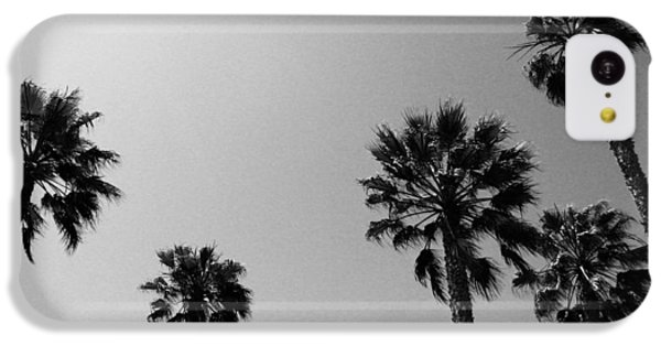 Miami iPhone 5c Case - Wind In The Palms- By Linda Woods by Linda Woods