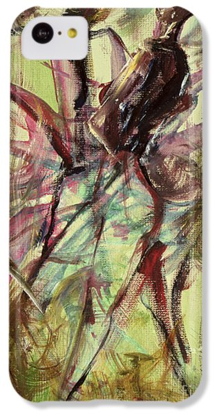 Harlem iPhone 5c Case - Windy Day by Ikahl Beckford
