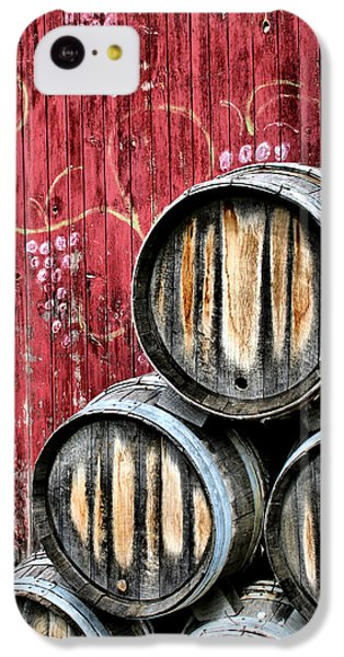Wine Barrels IPhone 5c Case by Doug Hockman Photography