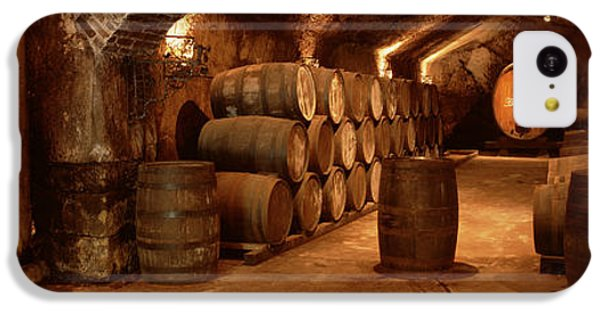 London Tube iPhone 5c Case - Wine Barrels In A Cellar, Buena Vista by Panoramic Images