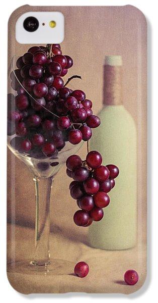 Wine On The Vine IPhone 5c Case by Tom Mc Nemar