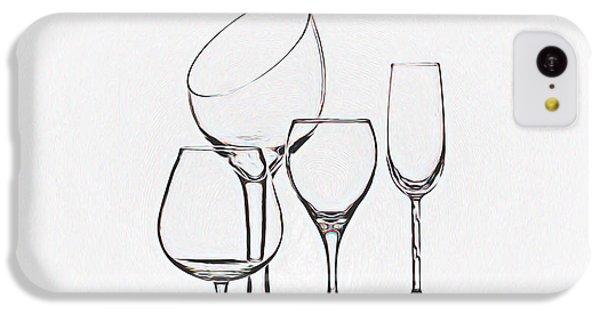 Wineglass Graphic IPhone 5c Case