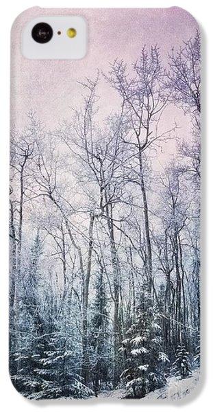 Landscapes iPhone 5c Case - Winter Forest by Priska Wettstein