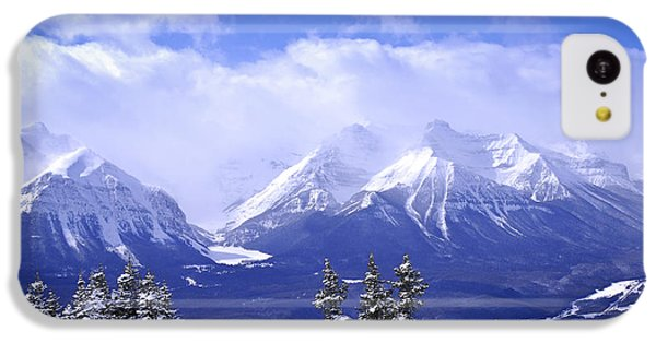 Mountain iPhone 5c Case - Winter Mountains by Elena Elisseeva