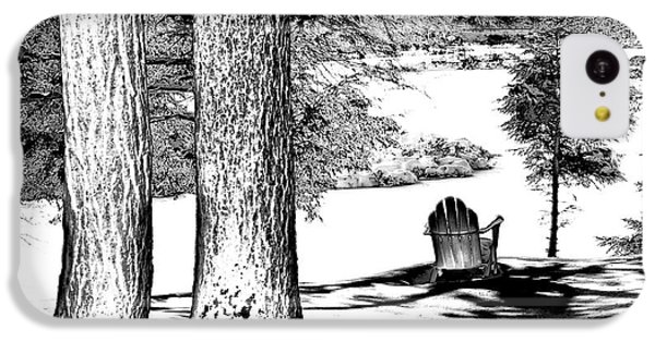 IPhone 5c Case featuring the photograph Winter Shadows by David Patterson