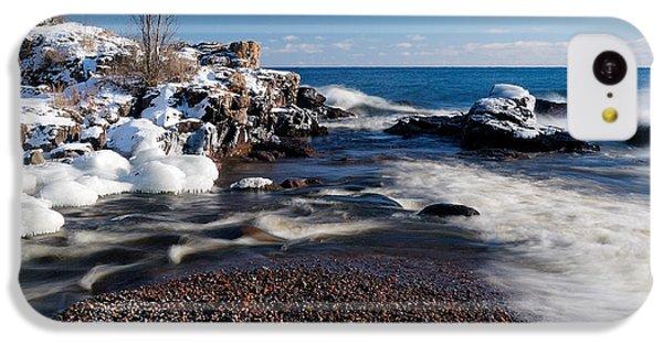 Winter Splash IPhone 5c Case by Sebastian Musial