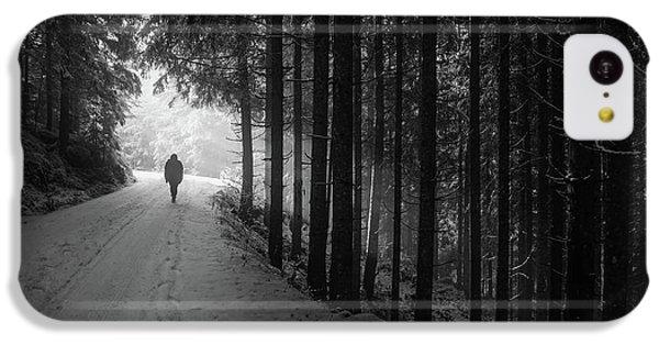 Winter Walk - Austria IPhone 5c Case by Mountain Dreams