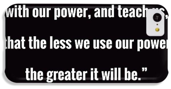 Thomas Jefferson iPhone 5c Case - Wisdom Will Grow by Greg Joens