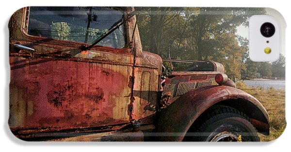 Truck iPhone 5c Case - Wishful Thinking by Jerry LoFaro