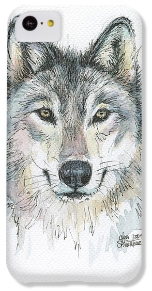 Wolf IPhone 5c Case