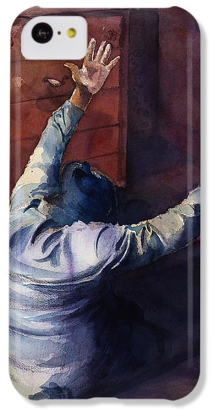 Figurative iPhone 5c Case - Woman Of Praise by Lewis Bowman