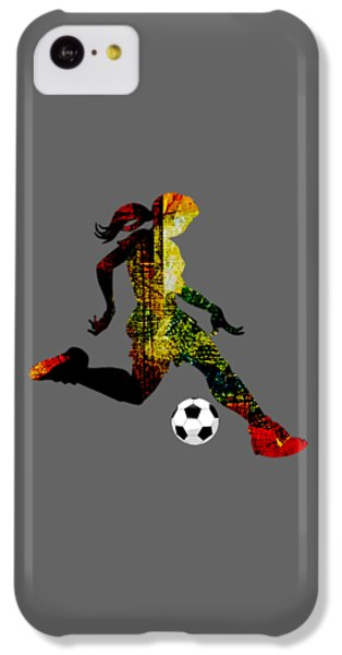 Womens Soccer Collection IPhone 5c Case