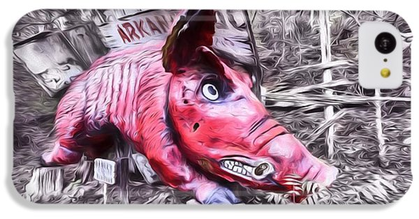 Woo Pig Sooie Digital IPhone 5c Case by JC Findley