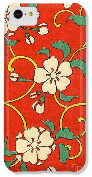 Woodblock Print Of Apple Blossoms IPhone 5c Case by Japanese School