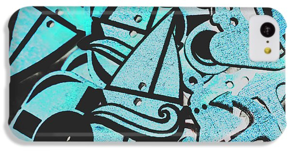 Navigation iPhone 5c Case - Wooden Harbour by Jorgo Photography - Wall Art Gallery