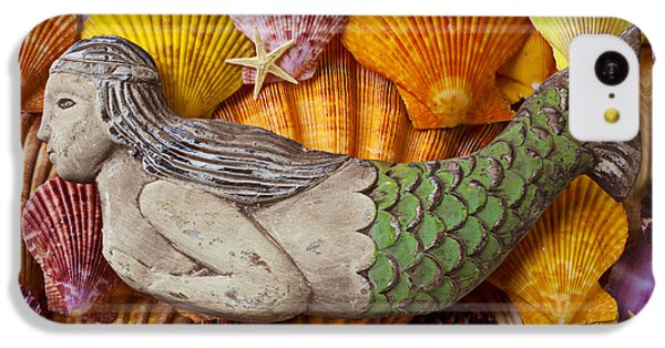Wooden Mermaid IPhone 5c Case by Garry Gay