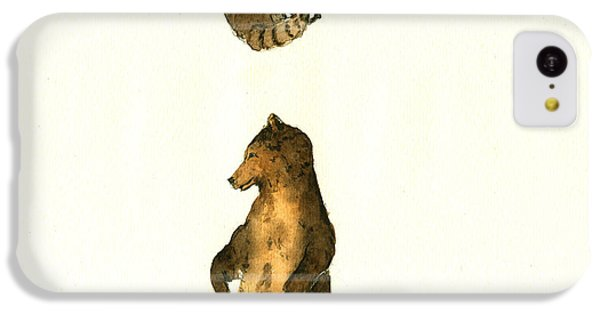 Woodland Letter I IPhone 5c Case