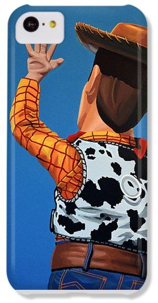 Aliens iPhone 5c Case - Woody Of Toy Story by Paul Meijering