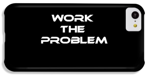 Work The Problem The Martian Tee IPhone 5c Case