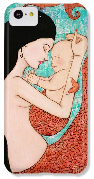 Wrapped In Love IPhone 5c Case by Natalie Briney
