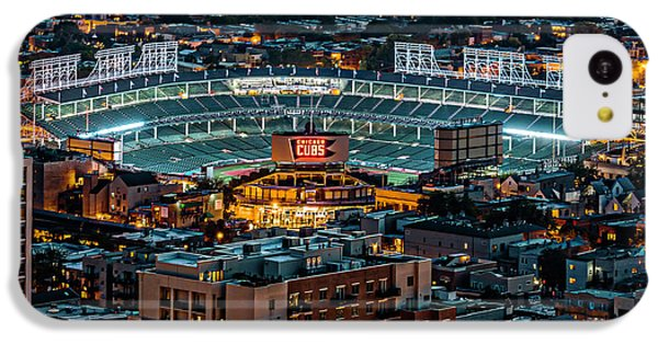 Wrigley Field From Park Place Towers Dsc4678 IPhone 5c Case by Raymond Kunst