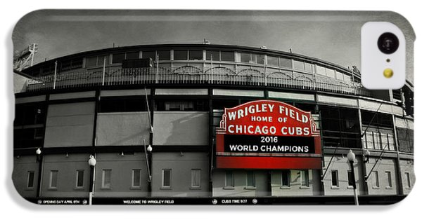 Wrigley Field IPhone 5c Case by Stephen Stookey