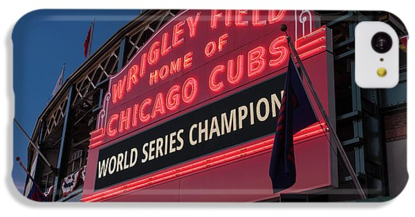 Wrigley Field World Series Marquee IPhone 5c Case