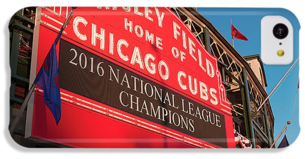 Wrigley Field Marquee Angle IPhone 5c Case