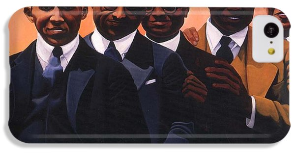 Harlem iPhone 5c Case - Writers On The Roof by Joyce Owens