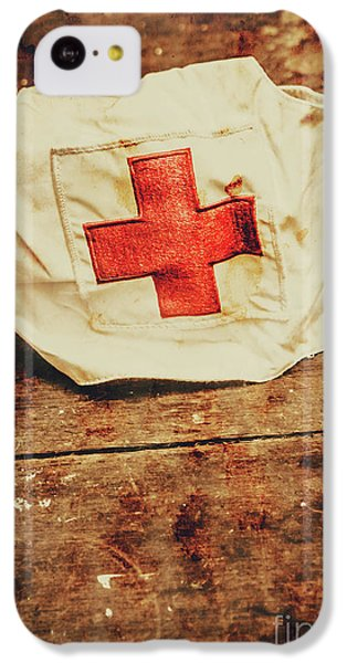 Doctor iPhone 5c Case - Ww2 Nurse Hat. Army Medical Corps by Jorgo Photography - Wall Art Gallery