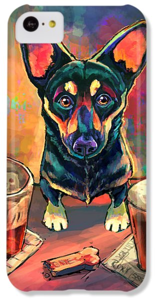 Yappy Hour IPhone 5c Case by Sean ODaniels