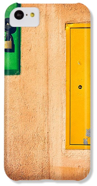 Yellow And Green IPhone 5c Case by Silvia Ganora