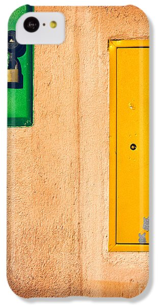 IPhone 5c Case featuring the photograph Yellow And Green by Silvia Ganora