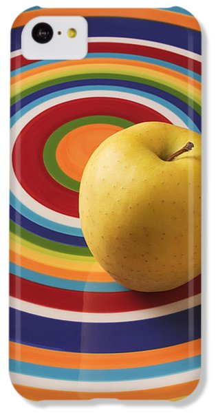 Apple iPhone 5c Case - Yellow Apple  by Garry Gay