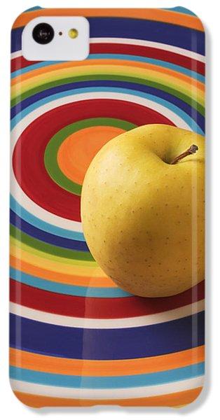 Yellow Apple  IPhone 5c Case