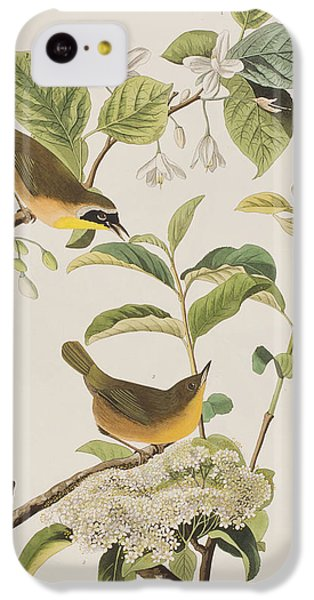Yellow-breasted Warbler IPhone 5c Case by John James Audubon