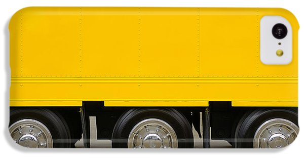 Yellow Truck IPhone 5c Case by Carlos Caetano