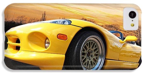 Yellow Viper Rt10 IPhone 5c Case by Gill Billington