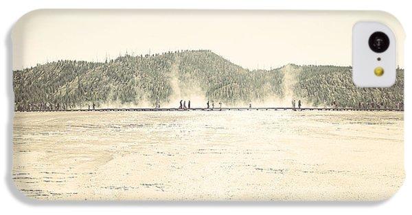 iPhone 5c Case - Yellowstone by Bike Flower