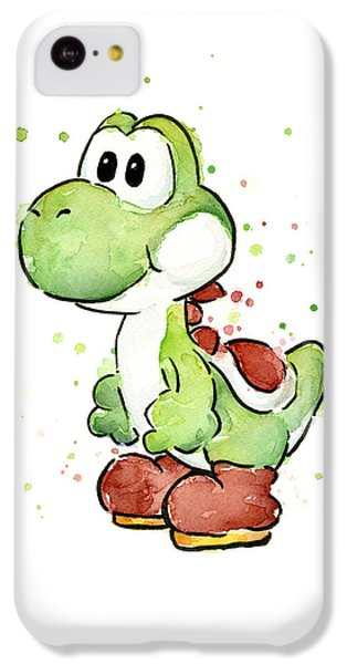 Yoshi Watercolor IPhone 5c Case