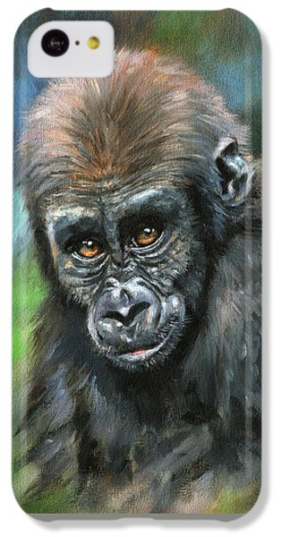 Young Gorilla IPhone 5c Case