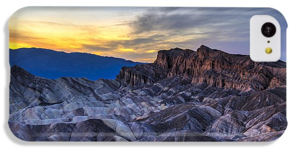 iPhone 5c Case - Zabriskie Point Sunset by Charles Dobbs