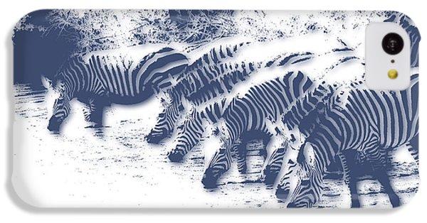 Zebra iPhone 5c Case - Zebra 3 by Joe Hamilton