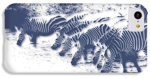 Zebra 3 IPhone 5c Case by Joe Hamilton